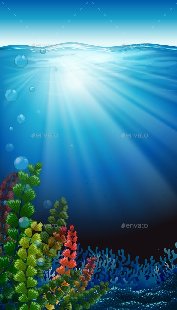 GraphicRiver An Underwater Scenery 11457007