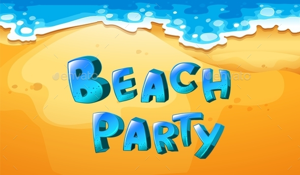 GraphicRiver Beach Party 11457066