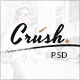 Crush - WordPress Personal Blog PSD Template