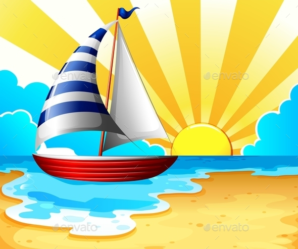 GraphicRiver Sail and Beach 11457178