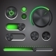 Set Of The Detailed UI Elements - GraphicRiver Item for Sale