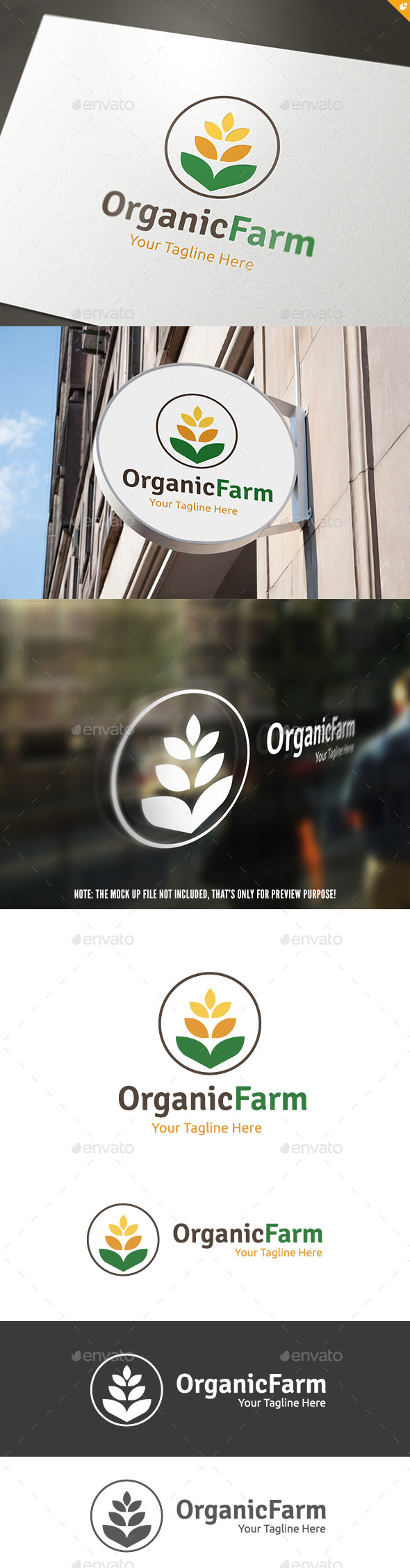 GraphicRiver Organic Farm 11457256