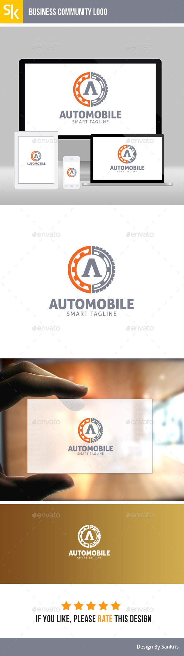 GraphicRiver Automobile Logo 11457352