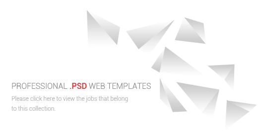 GokhanKara - Professional PSD Web Template