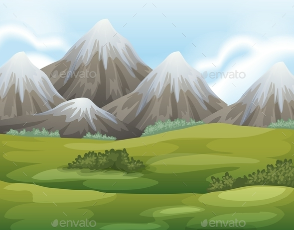 GraphicRiver Different Landforms 11457363