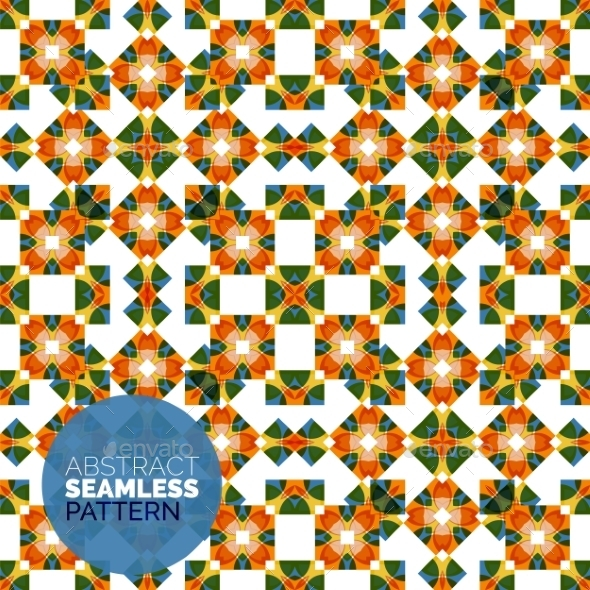 GraphicRiver Vector Colorful Seamless Geometric Pattern Modern 11457414