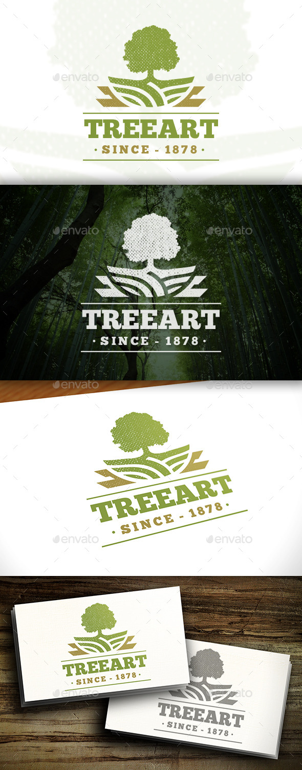 GraphicRiver Royal Tree Logo 11457435