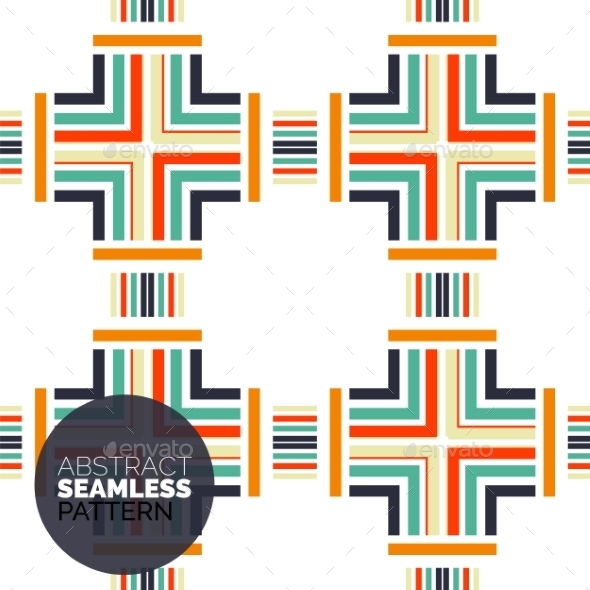 GraphicRiver Vector Colorful Seamless Geometric Pattern Modern 11457441