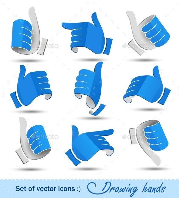 GraphicRiver Drawing Hands 11457478