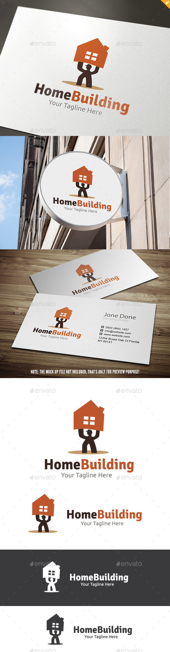GraphicRiver Home Building 11457537