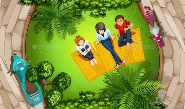 GraphicRiver People and Park 11457607