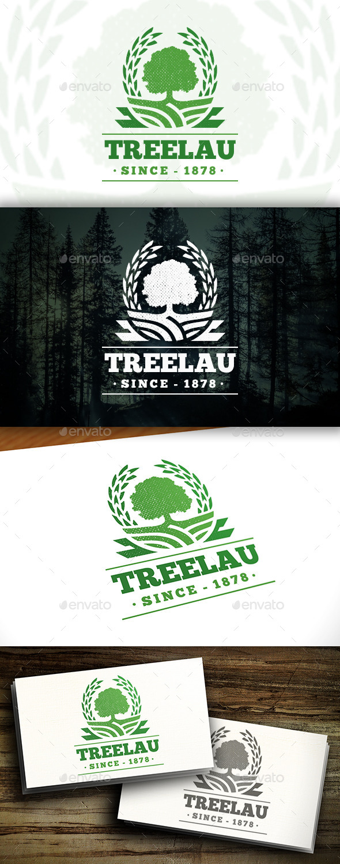 GraphicRiver Victory Tree Logo 11457622