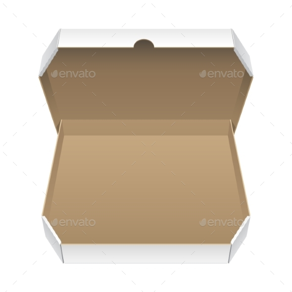 GraphicRiver Big White Opened Package 11457696