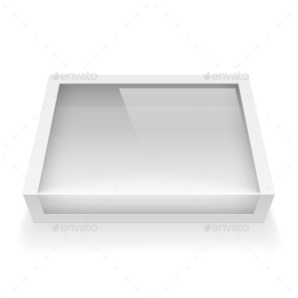 GraphicRiver Cardboard Box With Window 11457790