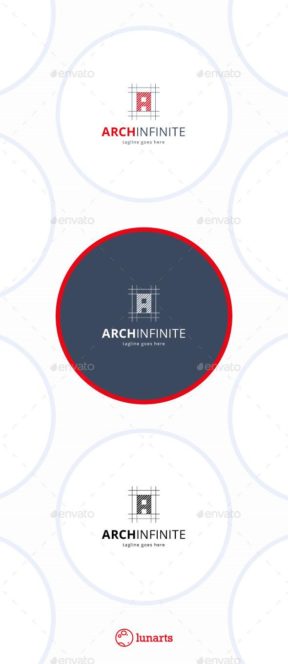 GraphicRiver Arch Infinite Logo Letter A 11457881