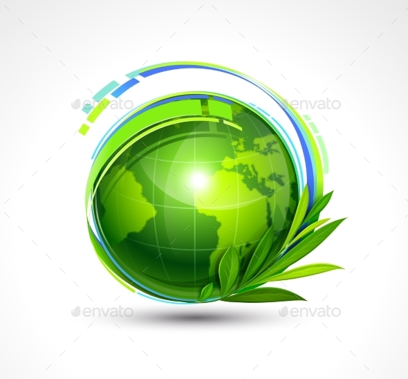 GraphicRiver Green Planet 11457886