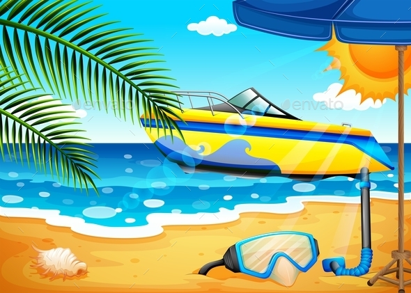 GraphicRiver Beach 11458052