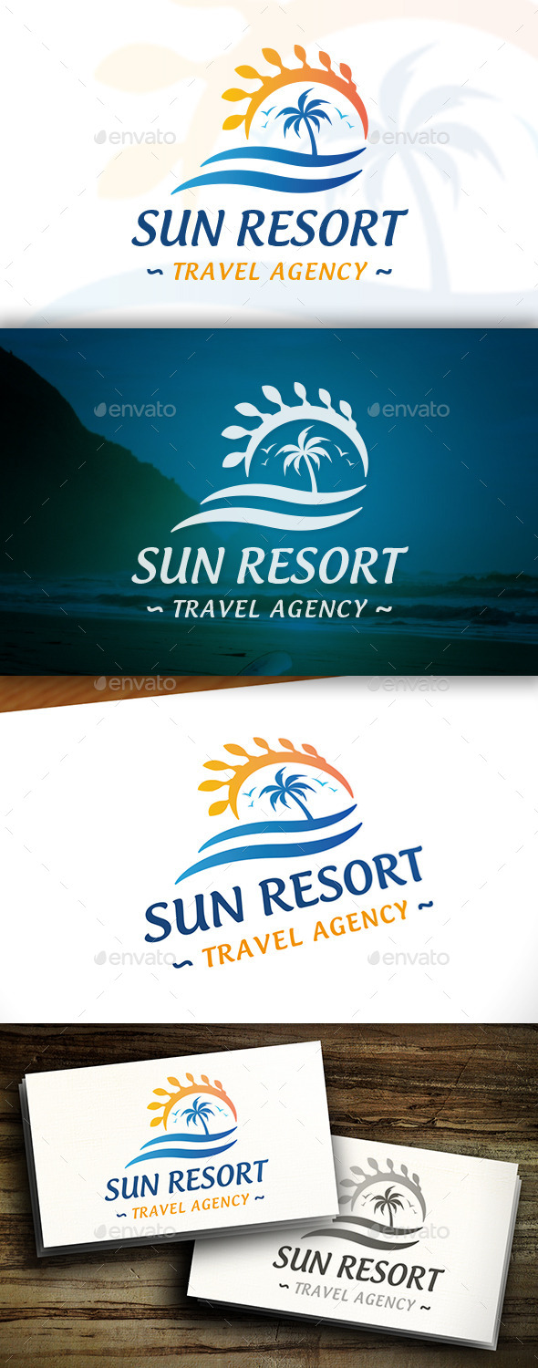GraphicRiver Summer Travel Logo 11458110