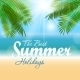Summer Sunny Natural Background Vector - GraphicRiver Item for Sale