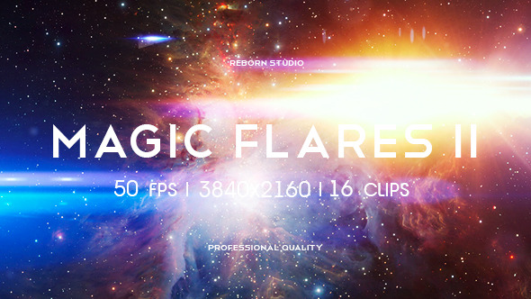 Magic Flares Episode II Titles and Transitions