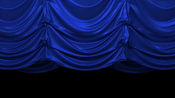 VideoHive Realistic Vertical Curtain Opening 11458723