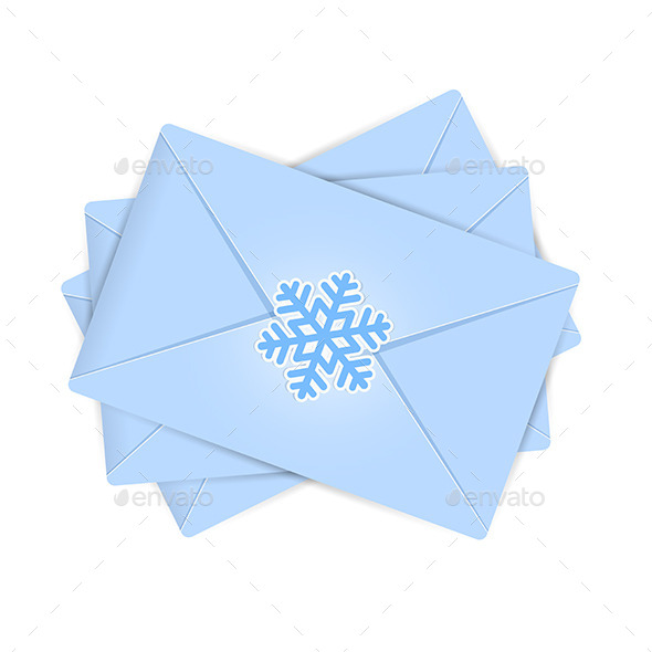GraphicRiver Christmas Envelopes 11458743