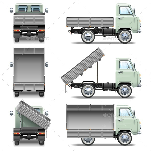 GraphicRiver Tipper Truck 11458829