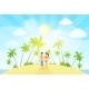 Couple on Summer Vacation - GraphicRiver Item for Sale