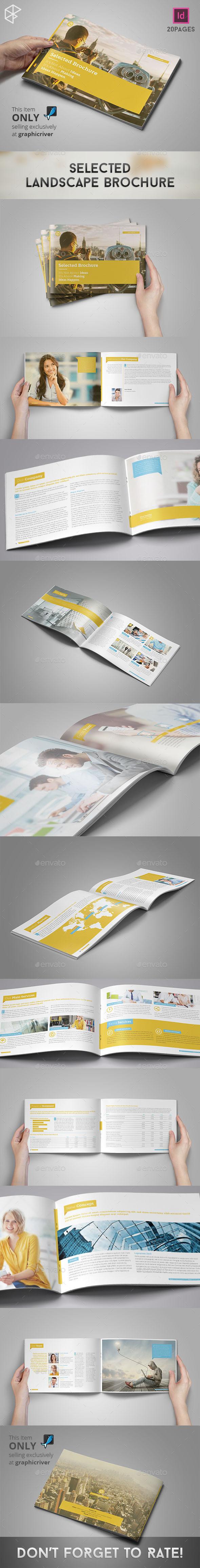 GraphicRiver Selected Landscape Brochure 11458975