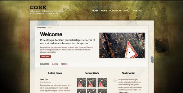 ThemeForest CORE 46701