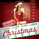 Christmas Night Club Flyer - GraphicRiver Item for Sale