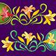 Floral Frieze Lilium