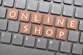 Online shop key on keyboard - PhotoDune Item for Sale