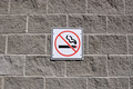No smoking sign on the wall - PhotoDune Item for Sale