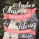 Creative Wedding Invitation - GraphicRiver Item for Sale