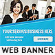 Corporate Web Banner Design Template 60 - GraphicRiver Item for Sale