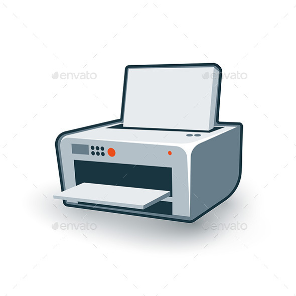 GraphicRiver Computer Printer 11460287