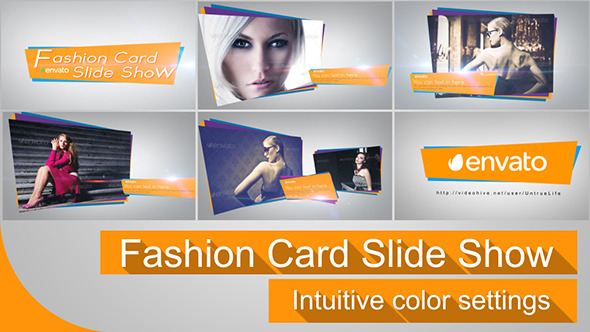 Fashion Card Slide Show