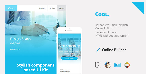 ThemeForest Cool Responsive Email & StampReady Build 11351778
