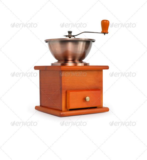 Vintage Coffee Grinder - Stock Photo - Images