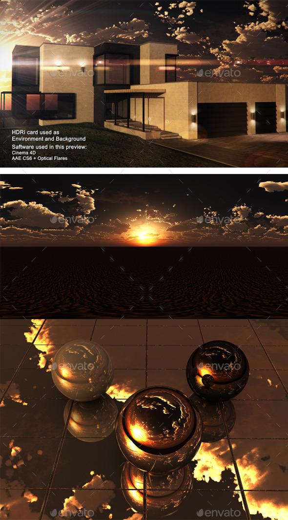 3DOcean Sunset Desert 18 11460667