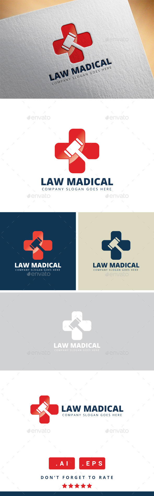 GraphicRiver Law Medical Logo 11461241