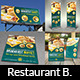 Restaurant Advertising Bundle Vol.5 - GraphicRiver Item for Sale