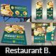 Restaurant Advertising Bundle Vol.5 - GraphicRiver Item for Sale