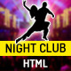 Night Club - One Page HTML Template For Parties