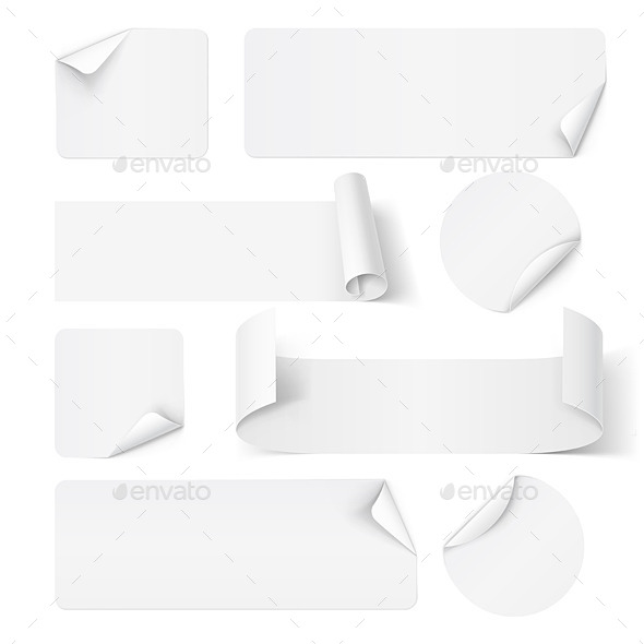 GraphicRiver Paper Stickers 11461613