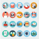 Ecommerce and Logistics Flat Icons - GraphicRiver Item for Sale