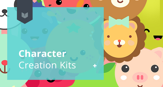 Cute Character Creation Kits