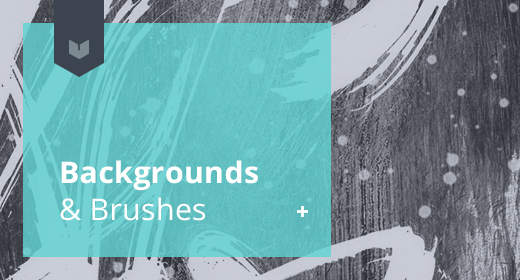 Backgrounds & high res Brushes
