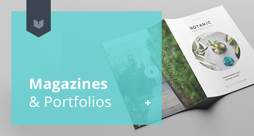 Magazines, booklets & Portfolios